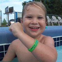 Green -  Go Water Safety Bracelet